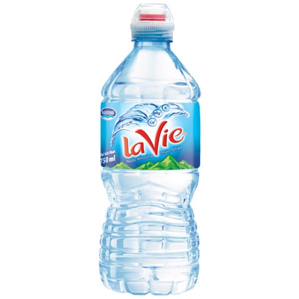 Nước khoáng Lavie 750ML
