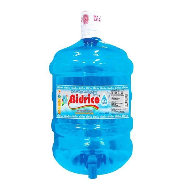 Nước tinh khiết Bidrico 20 Lít (Vòi)